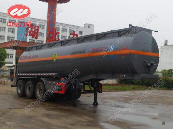 28方氧化性物品罐式运输半挂车