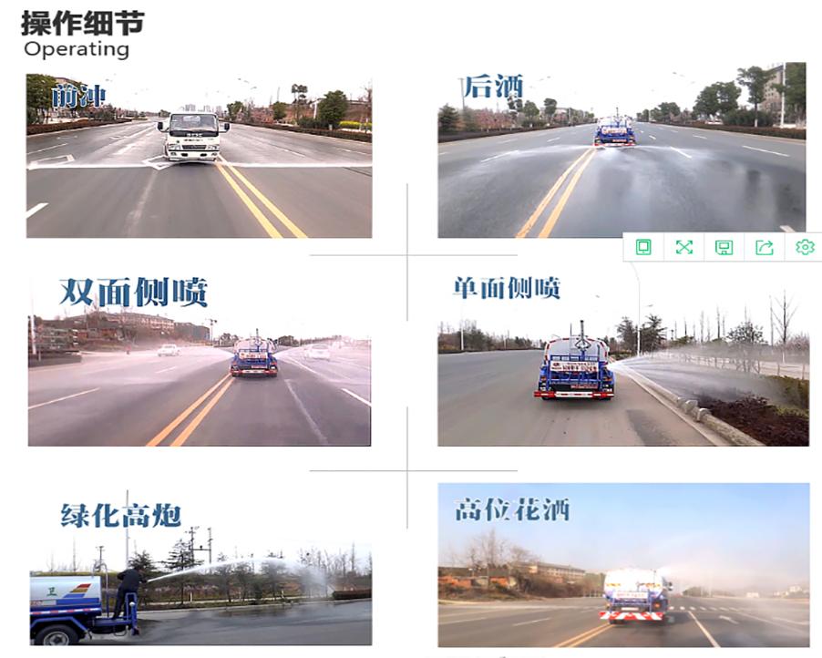 东风单桥12方洒水车