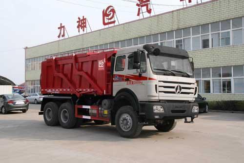 北奔6*4运砂车(SLS5253TYA型运砂车)