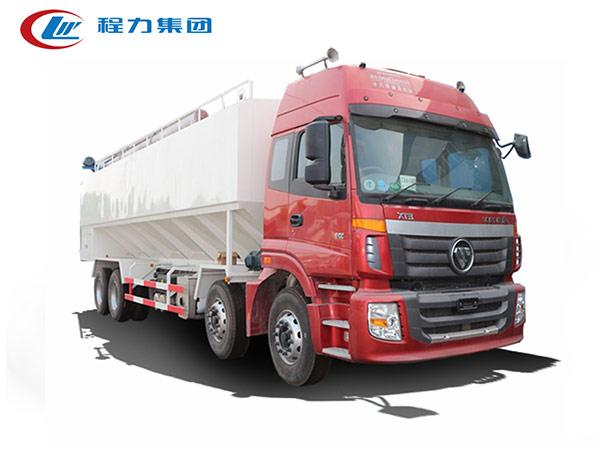 福田欧曼20吨饲料运输车