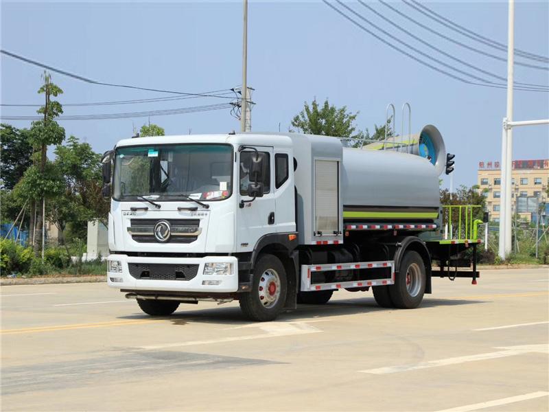 国六东风D9 10吨(圆罐)抑尘车图片