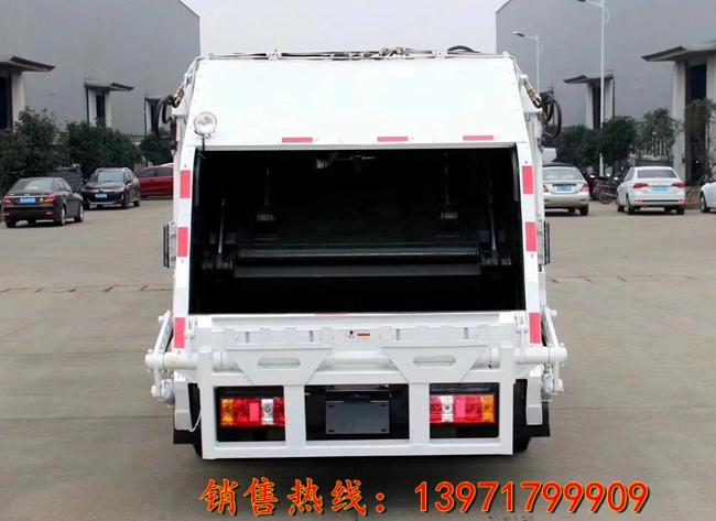 凯马压缩式垃圾车(4立方)