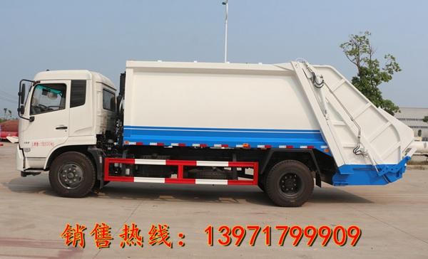 东风天锦压缩式垃圾车(12-15立方)