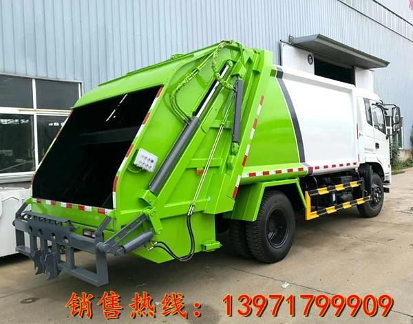 东风专底国五压缩式垃圾车(12-15立方)