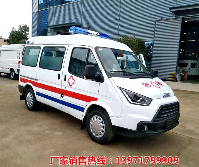 江鈴特順短軸救護車