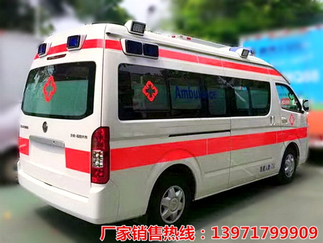 福田风景G9救护车