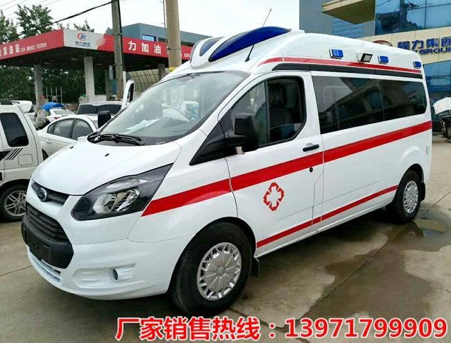 江鈴新全順長軸中頂監護型救護車