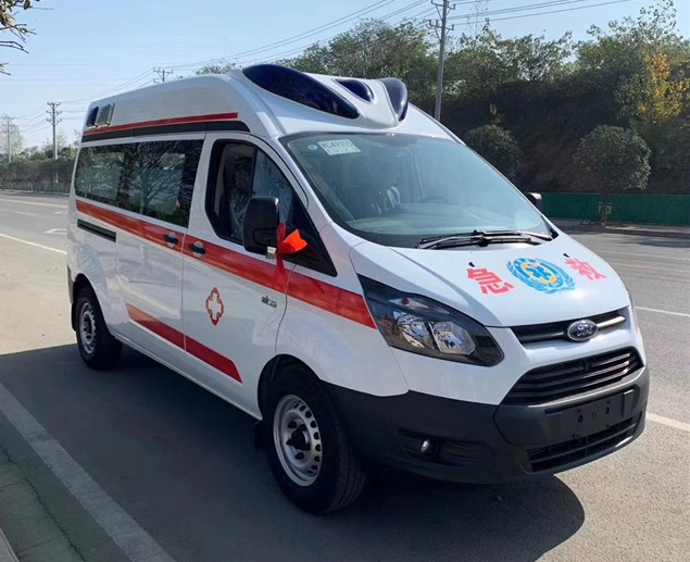 國六江鈴福特V362救護車