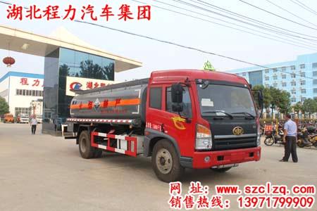 解放单桥氨水运输车