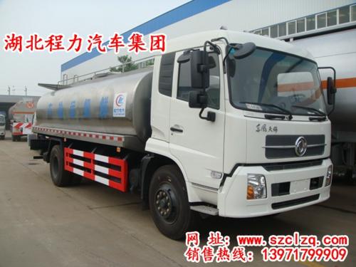 东风天锦鲜奶运输车/液态食品运输车