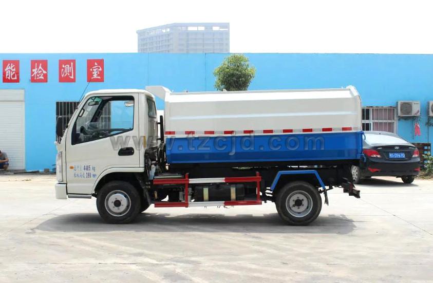 凯马挂桶式垃圾车(4立方)