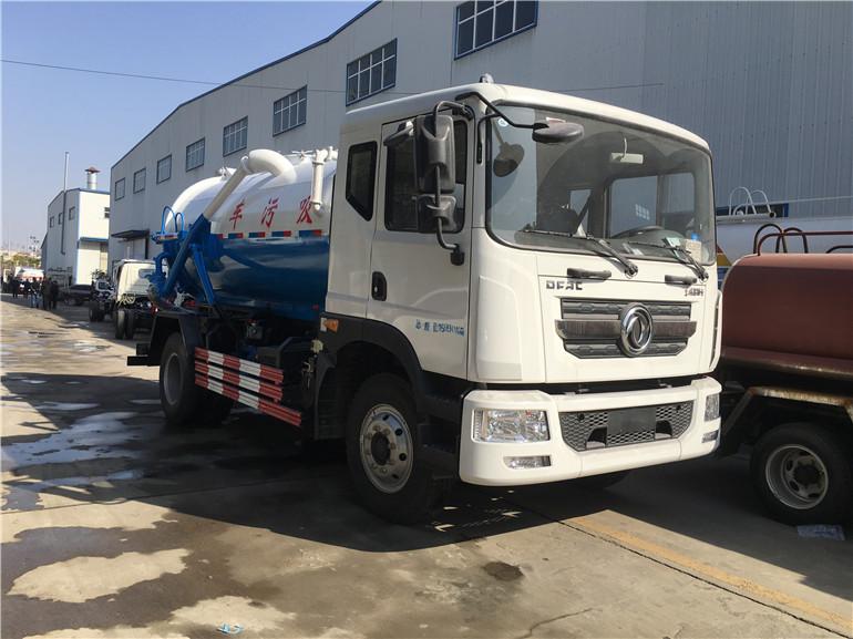 国六东风D9吸污车(10方)
