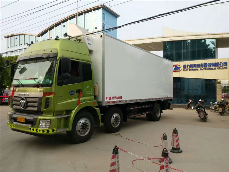 歐曼小三軸冷藏車廂長9.53米(國五)