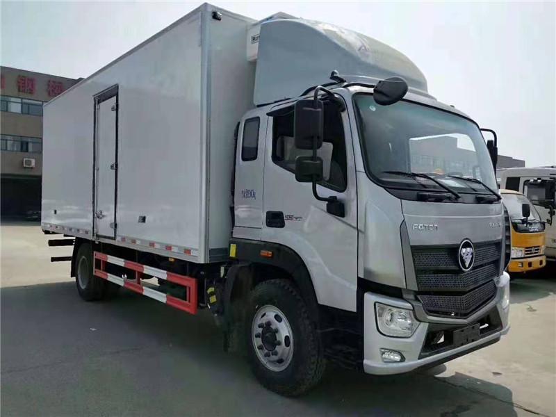 福田歐馬可S5冷藏車廂長7.6米
