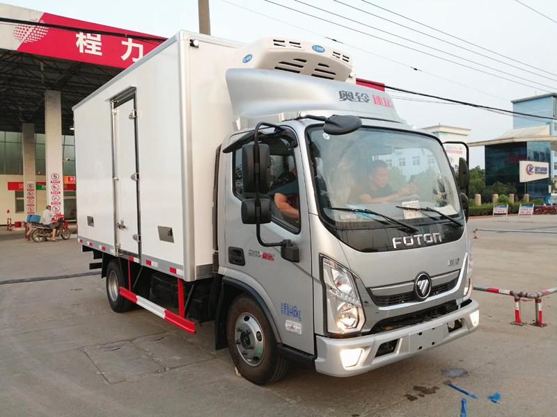 福田奧鈴速運4.08米冷藏車