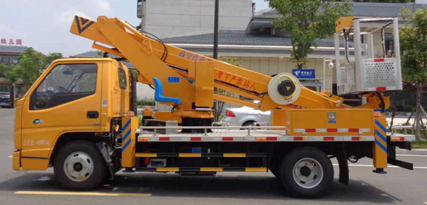16米、21米江铃国六伸缩臂高空作业车(蓝牌)