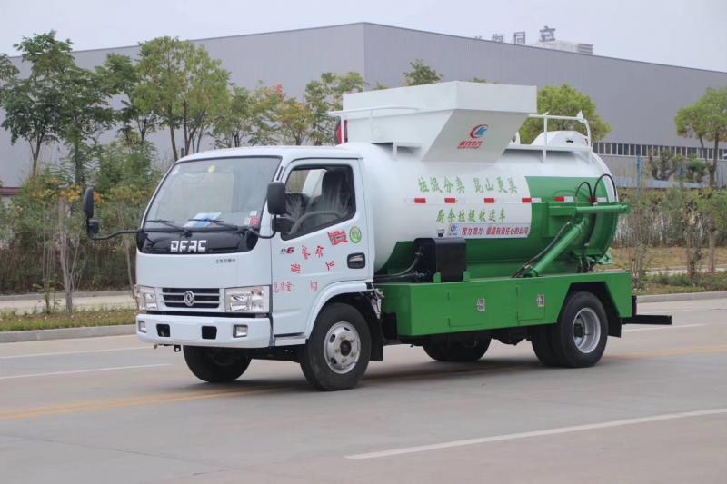 东风小多利卡5立方餐厨垃圾车
